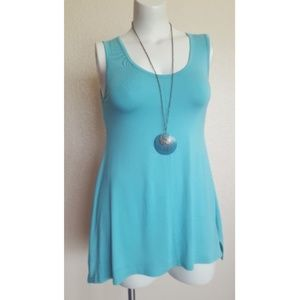Soft Surroundings Timely Tank Top Size S (6-8)